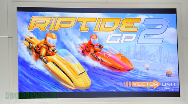 games OpenGL ES 3.0 Android 4.3 Riptide GP2